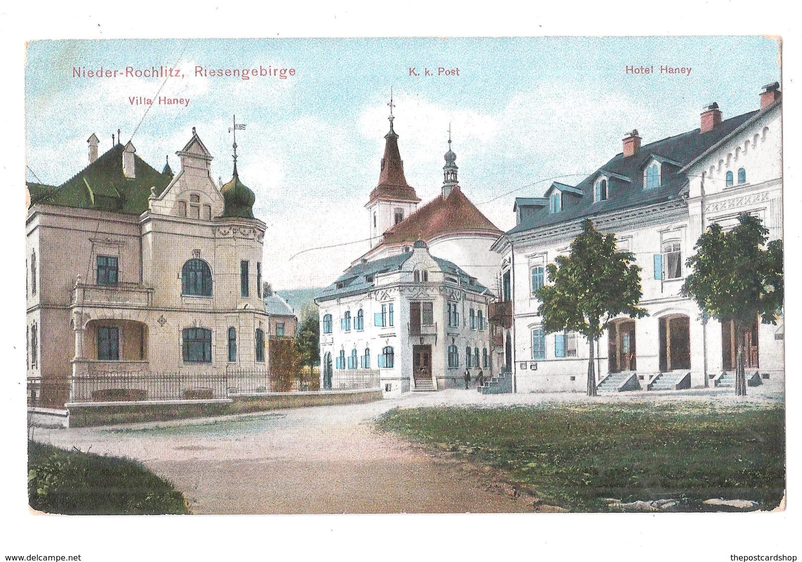 Nieder-Rochlitz Riesengebirge Villa Haney Ehemalige Dt. Gebiete Sudeten - Sudeten