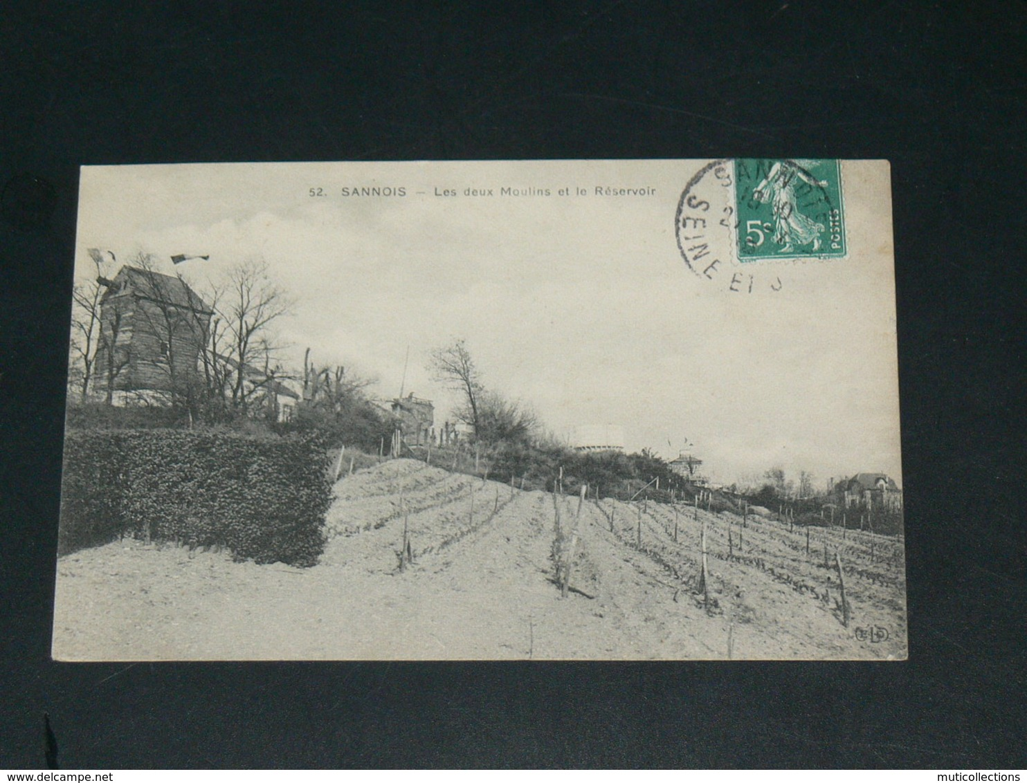 SANNOIS   1920 /   MOULINS  & VIGNES     ......  EDITEUR - Sannois