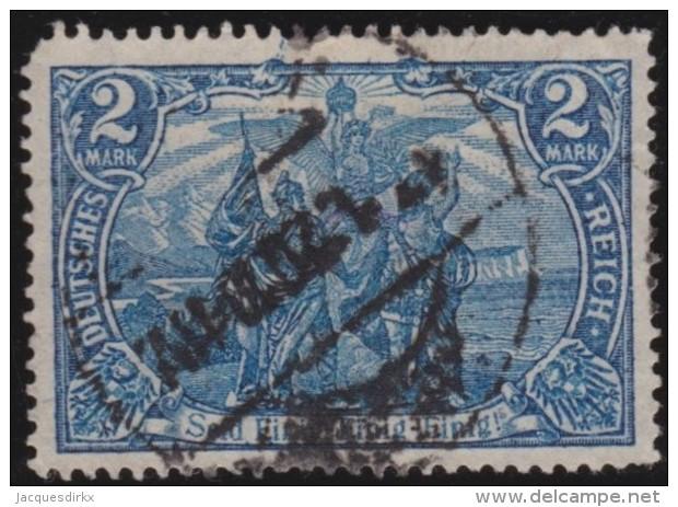 Deutsches Reich  .    Michel      .     79         .      O         .        Gebraucht  Mit Falz - Gebraucht