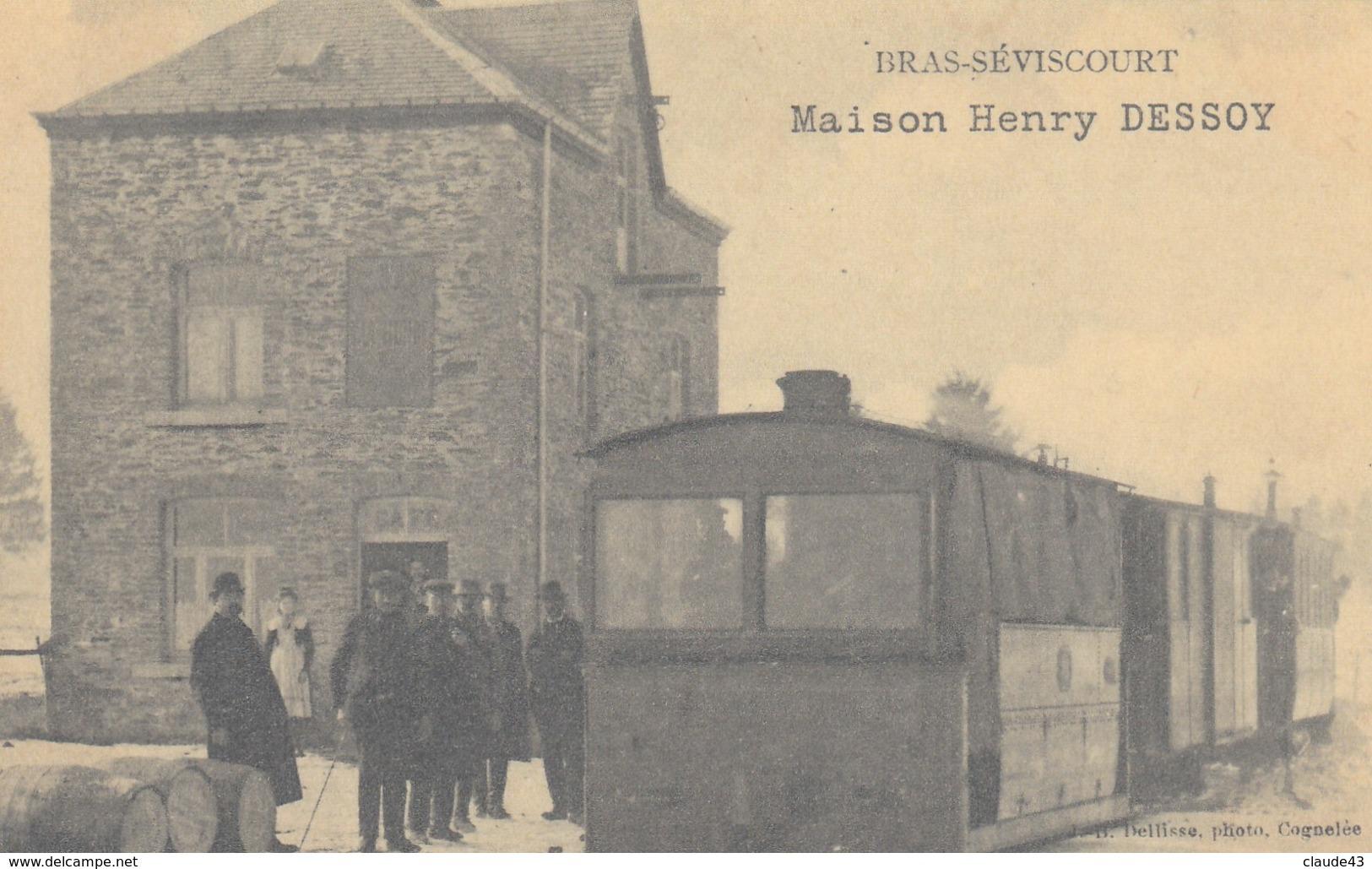 Bras-Séviscourt   REPRODUCTION  Maison Henry Dessoy - Libramont-Chevigny