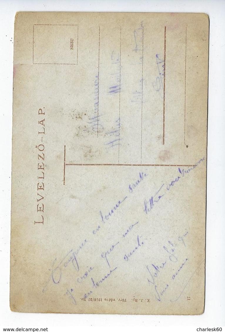 CPA 1917 Hongrie Hortobdgy Czikos Bojtar Es Bojtar Gyerck Pferdehirte Bojten Und Sein Kind - Hungary