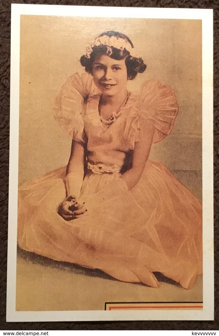 Princess Elizabeth, Coronation Calender, 1937. The Nostalgia Postcard Collectors Club, Yesterdays Britain 1890s-1950s - Familles Royales