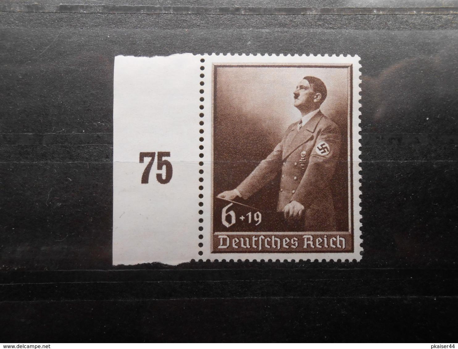 D.R.Mi 694*MLH - SR - 1939 - Mi 5,00 € - Germany