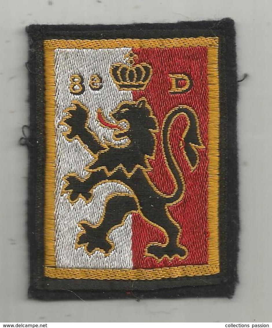 écusson Tissus ,militaria , 8 E D , 8 E Régiment De DRAGON , 2 Scans - Ecussons Tissu
