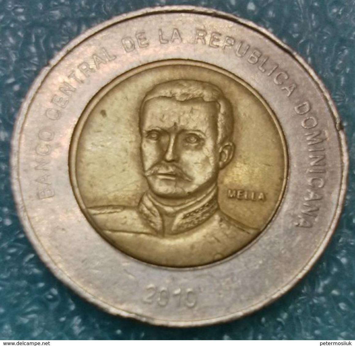 Dominican Republic 10 Pesos, 2010 - Dominicaine