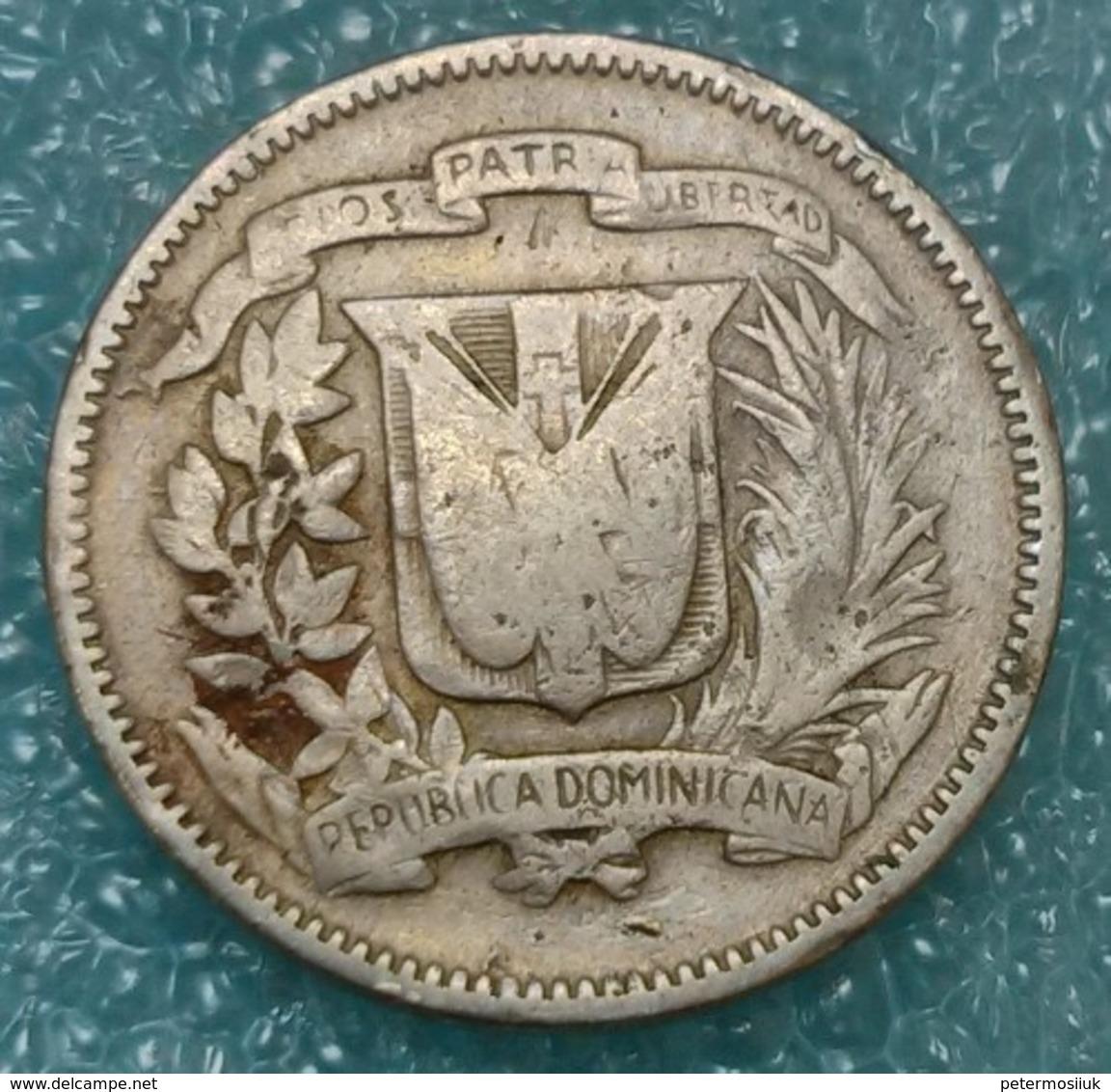 Dominican Republic 5 Centavos, 1961 - Dominicaine