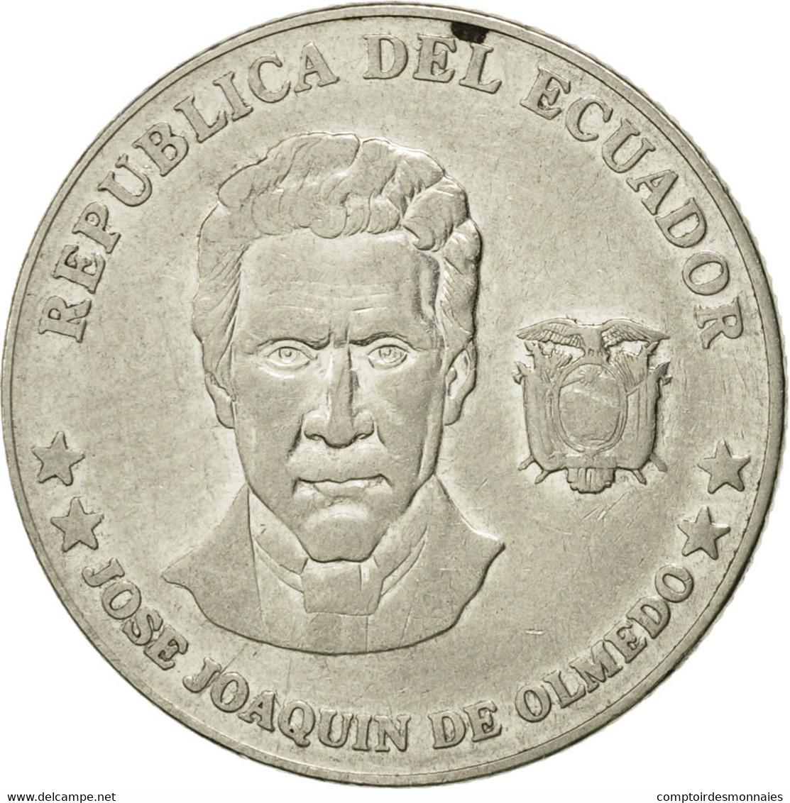 Monnaie, Équateur, 25 Centavos, 2000, TTB, Steel, KM:107 - Equateur