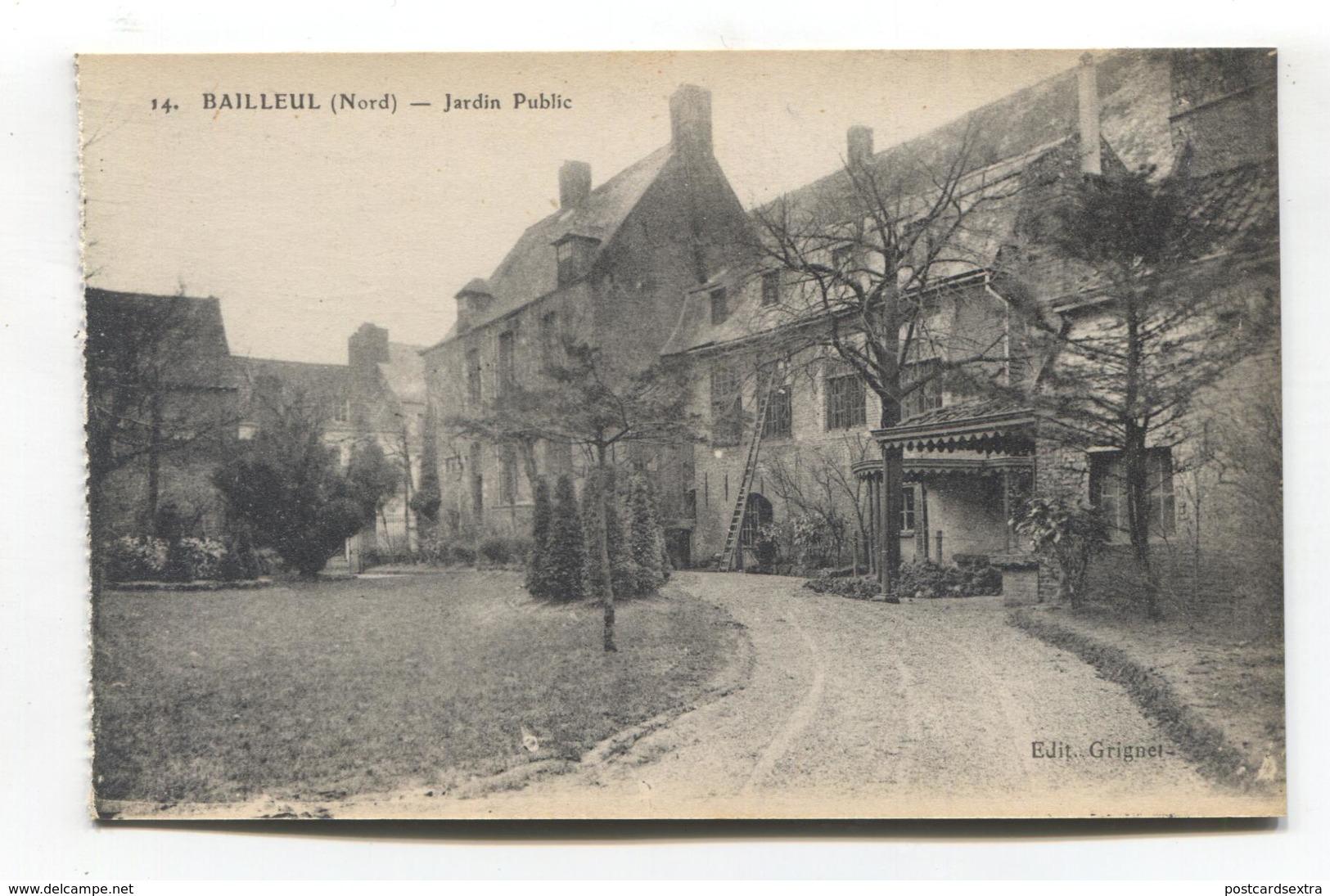 Bailleul (59) - Jardin Public - Otros Municipios