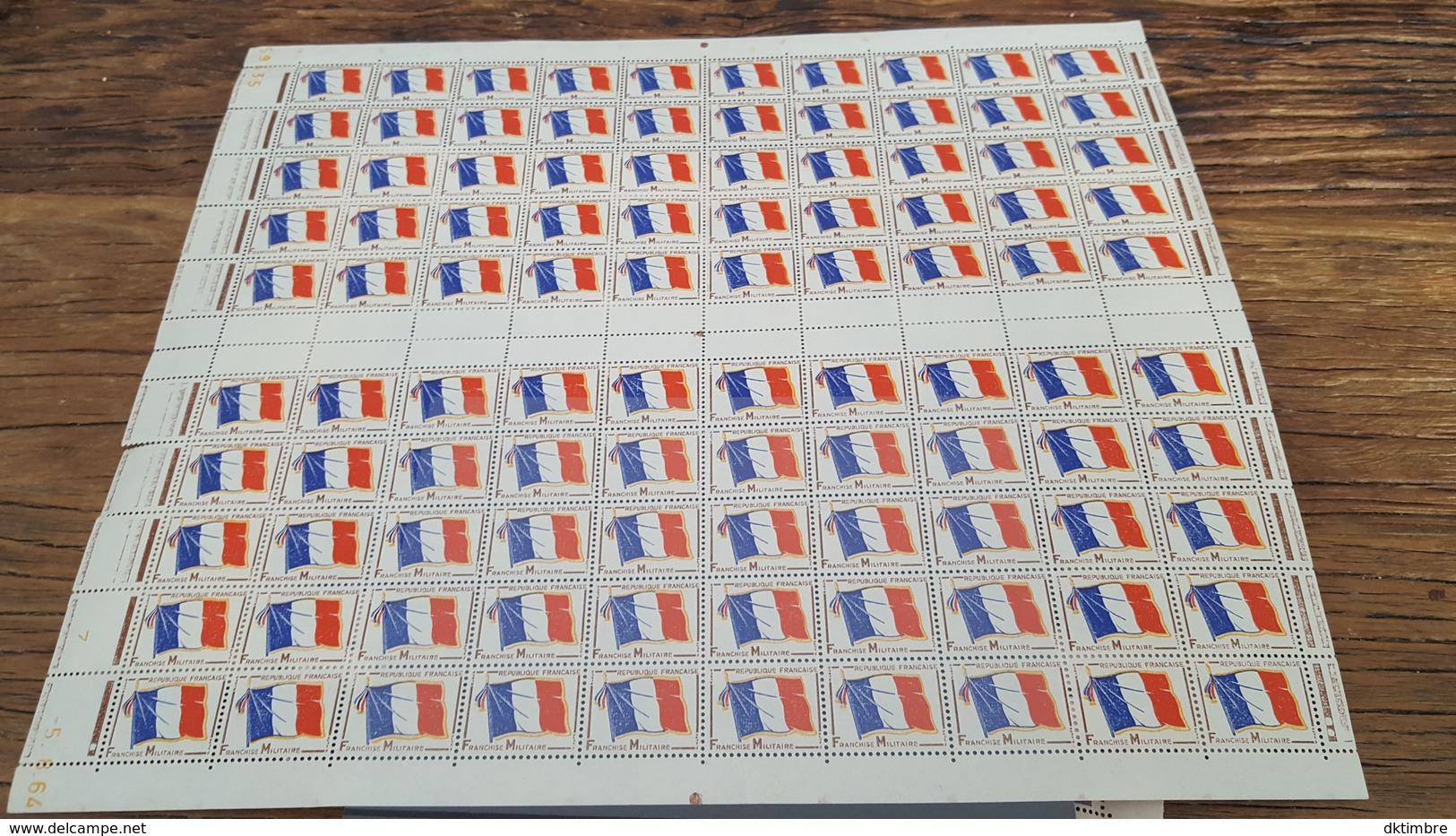 LOT 408356 TIMBRE DE FRANCE  NEUF** FEUILLE  BLOC - Feuilles Complètes