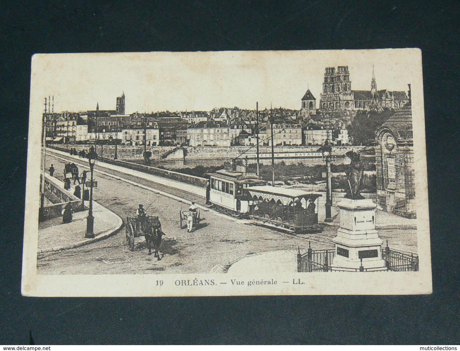 ORLEANS   1930  /     TRAMWAY    ......  EDITEUR - Orleans
