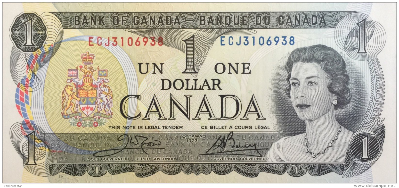 Canada 1 Dollar, P-85c (1973) UNC - Canada