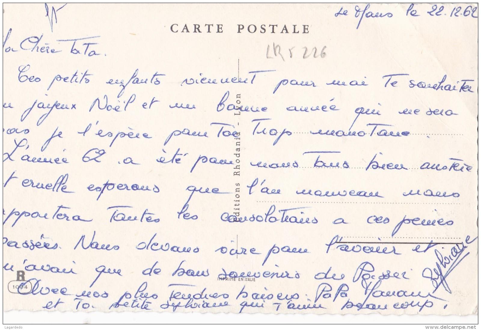BONNE ANNEE - Contemporain (à Partir De 1950)