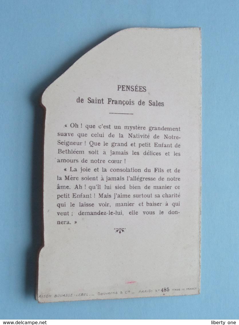 Noël - Noël Pensées De Saint François De SALES ( N° 485 - Bouasse / Zie Foto ) ! - Religione & Esoterismo