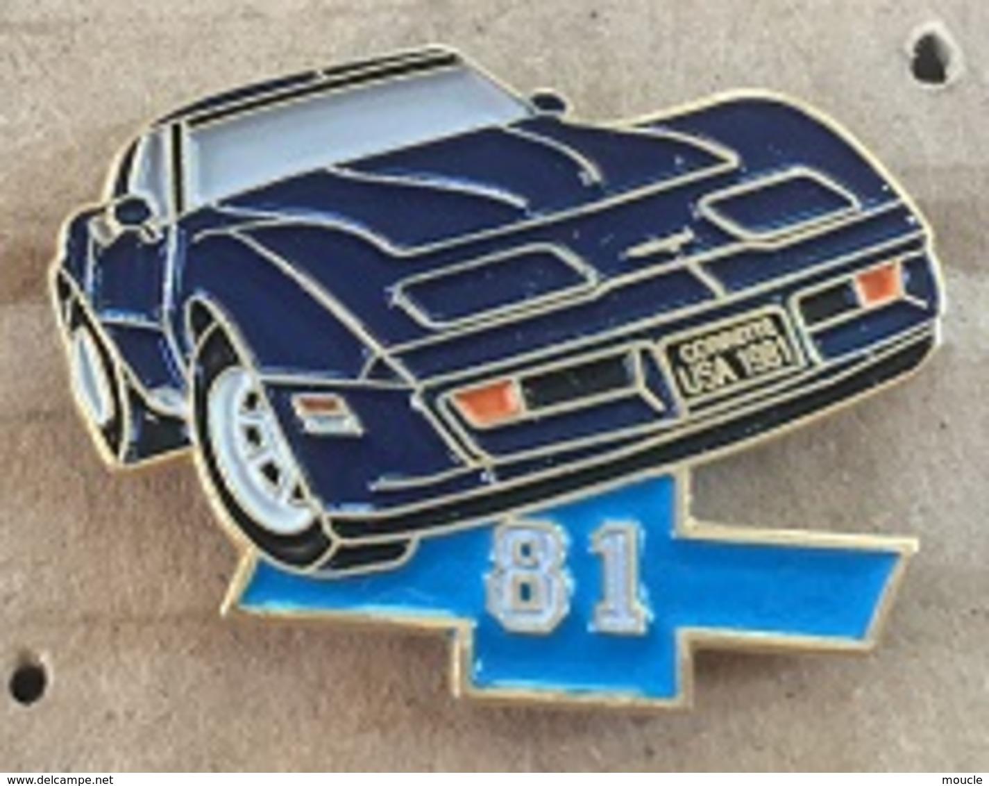 VOITURE - CHEVROLET CORVETTE 1981 - BLEU   -    (20) - Corvette