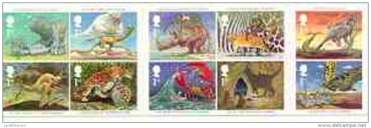 16389 Booklet - Great Britain 2002 Rudyard Kipling (literature Children Fairy Tales Animals Whales Camels Rhino Leopard) - Booklets