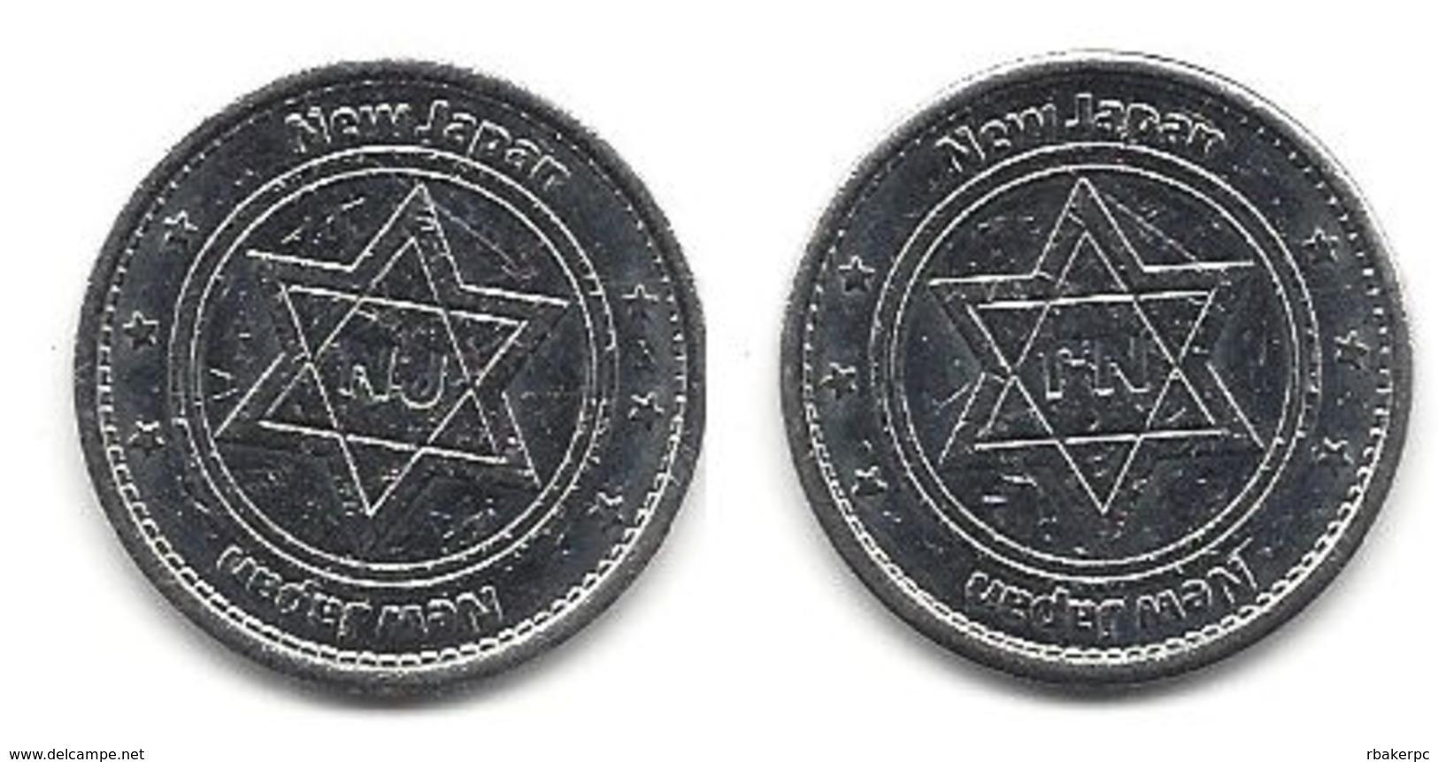 New Japan Metal Token - Tokens & Medals