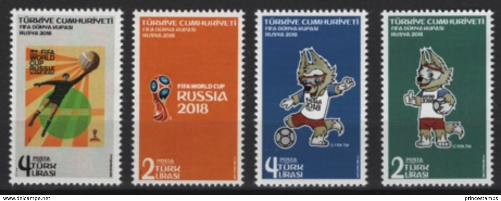 Turkey - Turquie (2018) - Set -  /  World Cup Russia - Soccer - Football - Calcio - Fussball - 2018 – Rusia