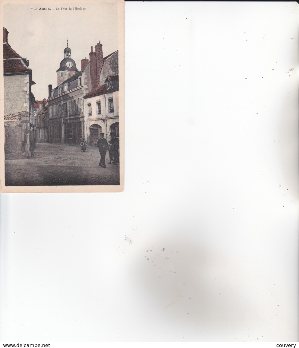 CPA 71 AUTUN ,la Tour De L'Horloge. - Autun