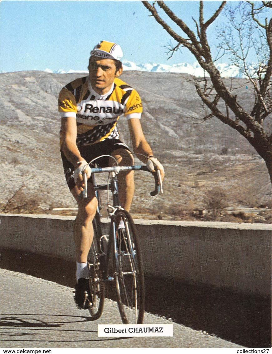 CYCLISTE - GILBERT CHAUMEZ - Cyclisme