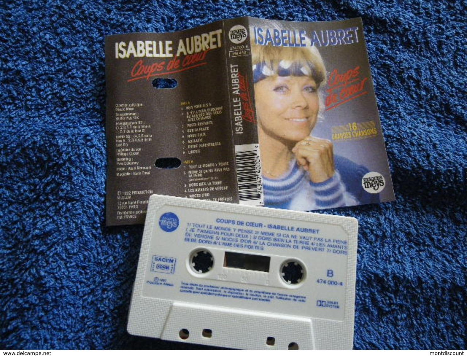 ISABELLE AUBRET VOIR DESCRIPTIF ET PHOTO... REGARDEZ LES AUTRES (PLUSIEURS) - Audio Tapes