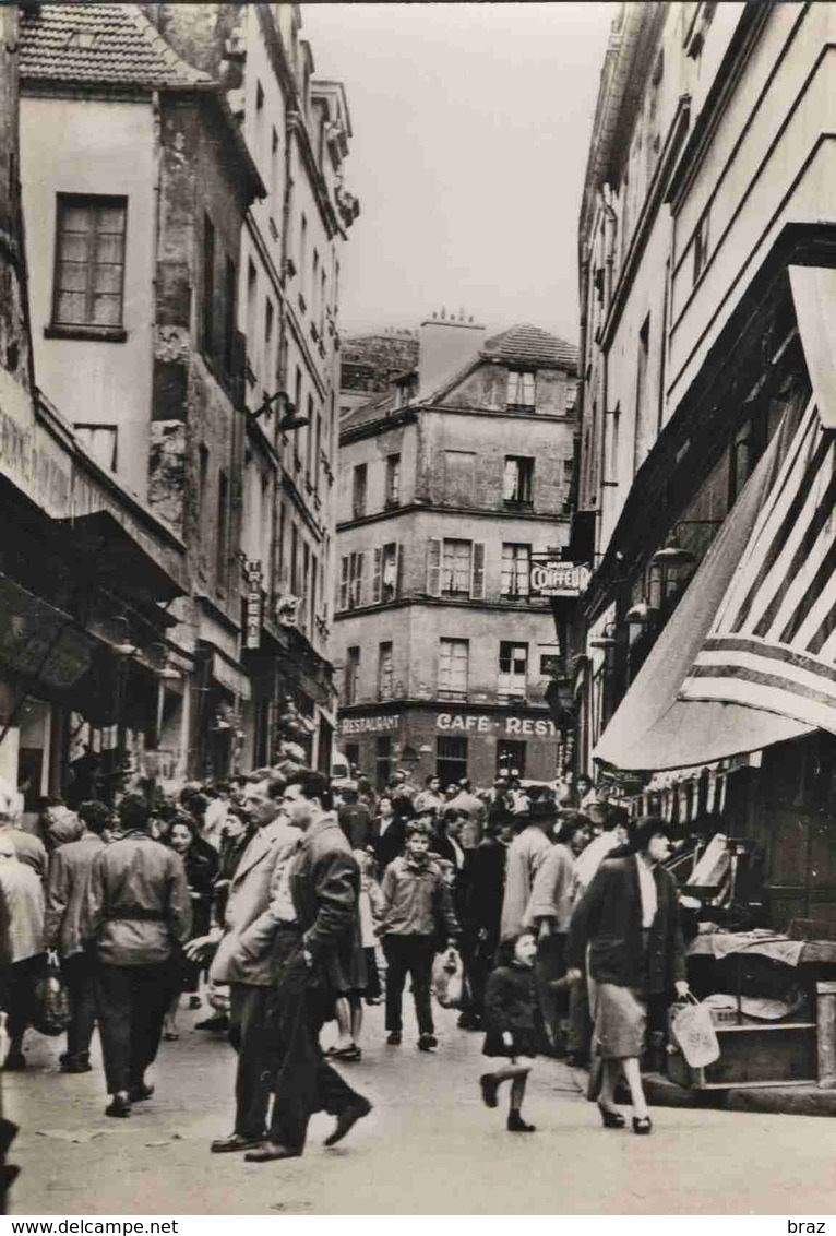 CPSM  Paris V Eme Rue De L'arbalète - Arrondissement: 05