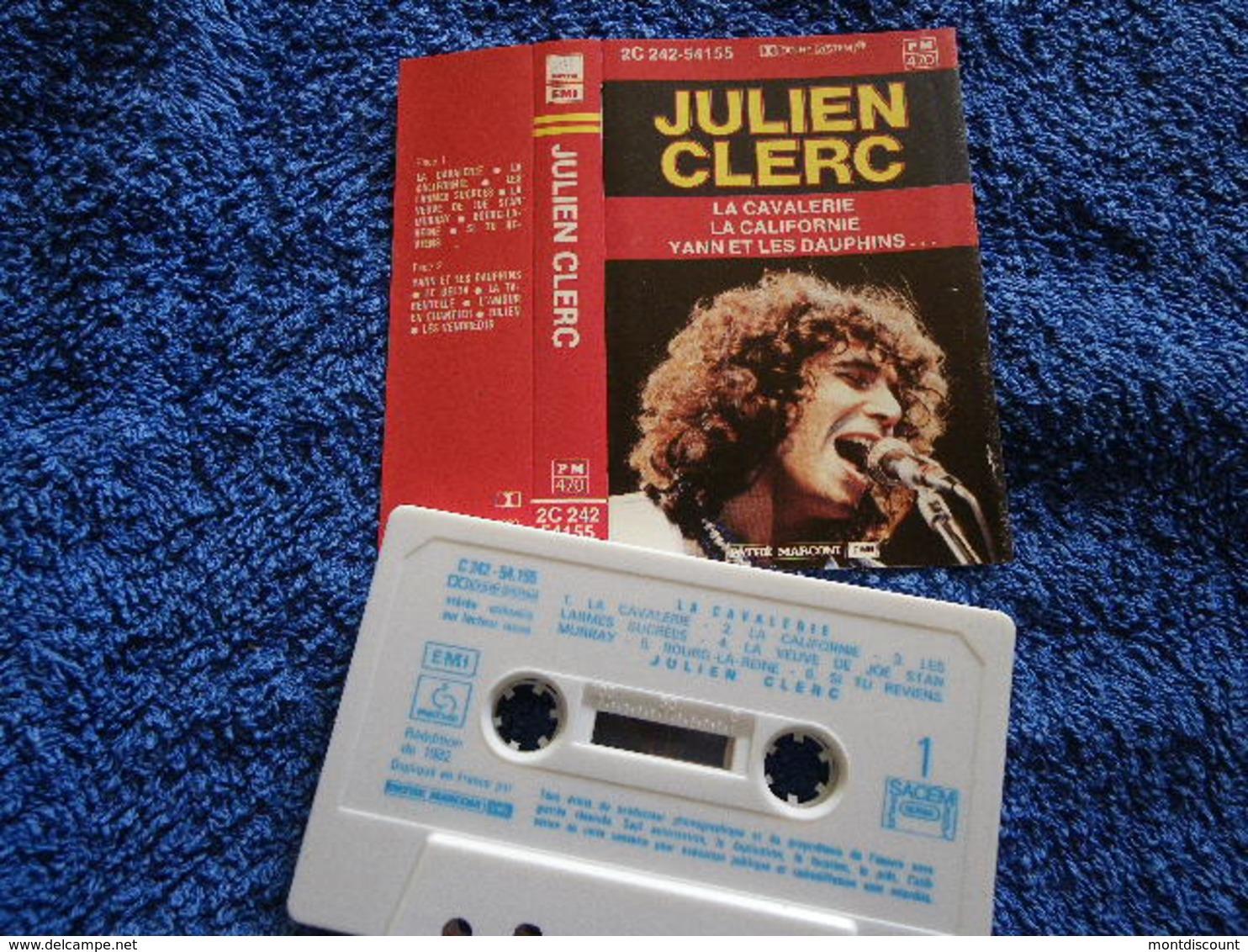 JULIEN CLERC VOIR DESCRIPTIF ET PHOTO... REGARDEZ LES AUTRES (PLUSIEURS) - Audio Tapes
