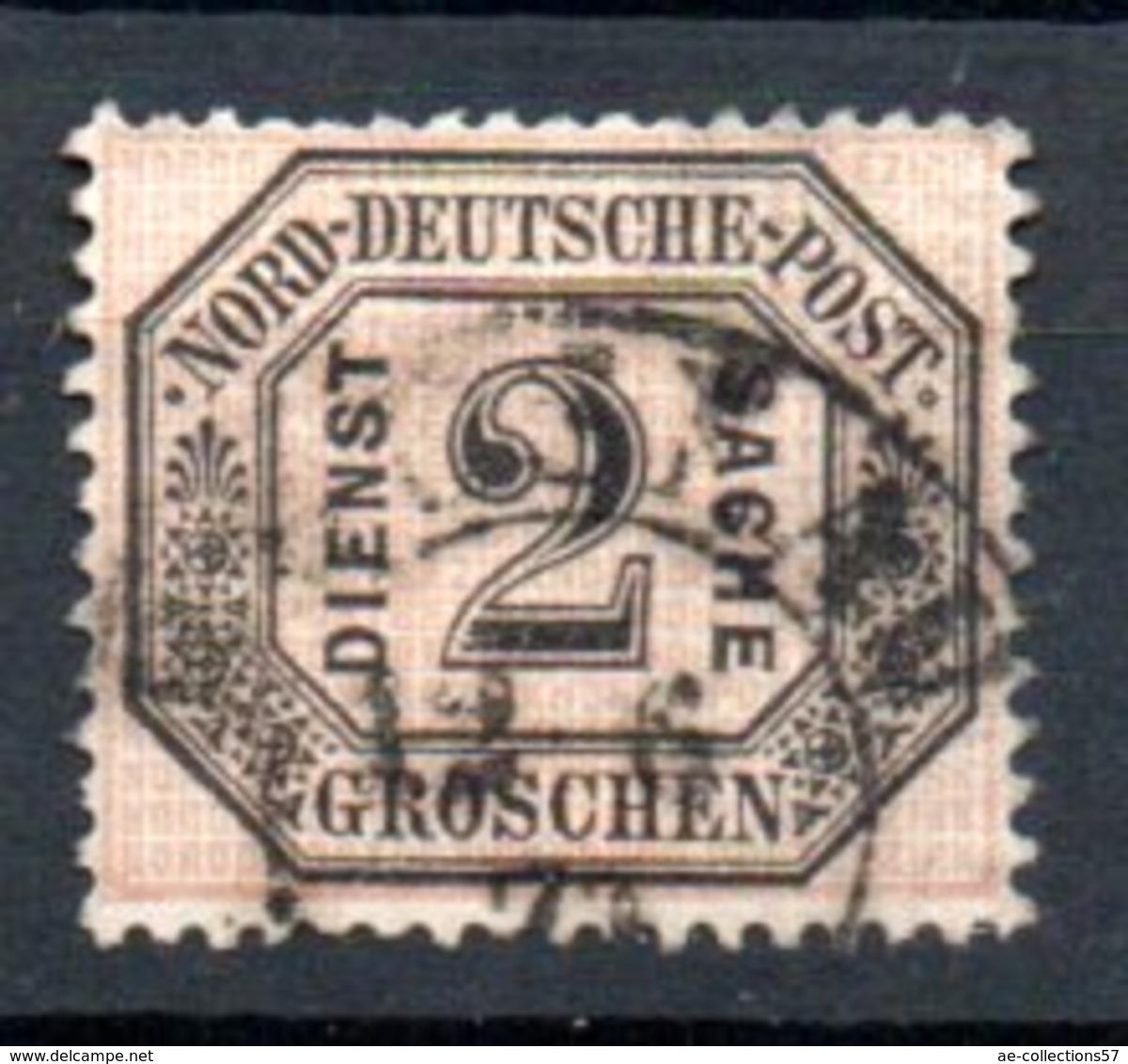 Conf De L'Allemagne Du Nord  / N 5 / 2 G Noir / Oblitéré - Conf. De L' All. Du Nord