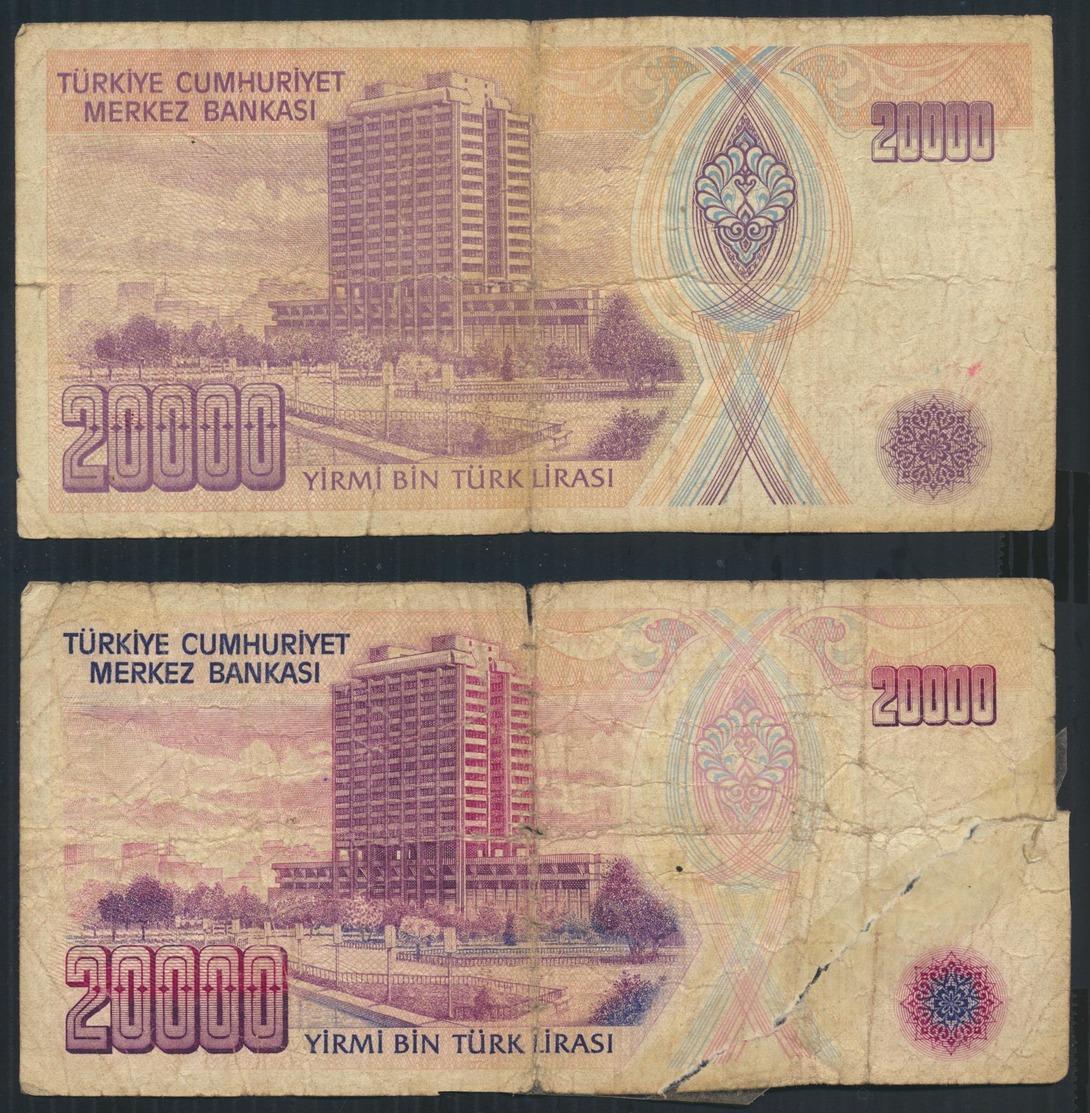°°° TURKEY - 20000 LIRA 1970 °°° - Turchia