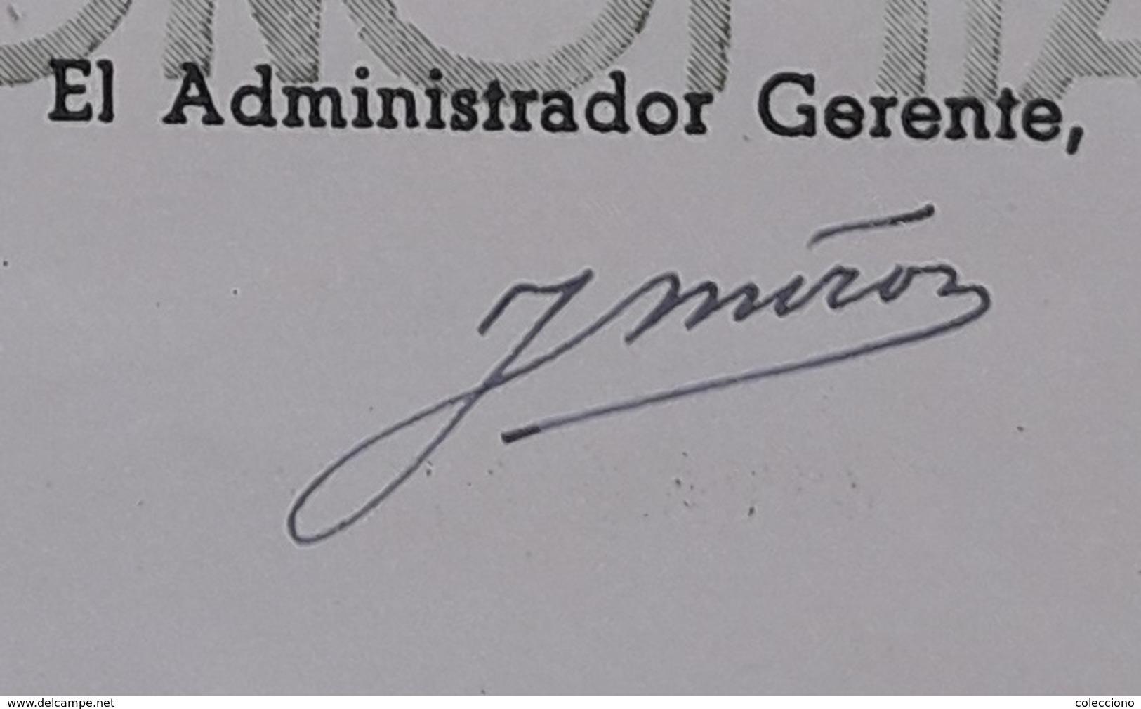 ACCIÓN RENFE: JUAN MIRÓ (1949) - Shareholdings