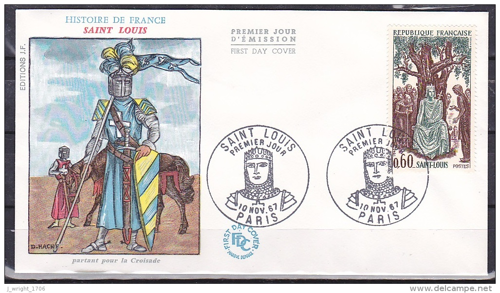 France/1967 - History Of France/Histoire De France - 60 C - FDC - FDC