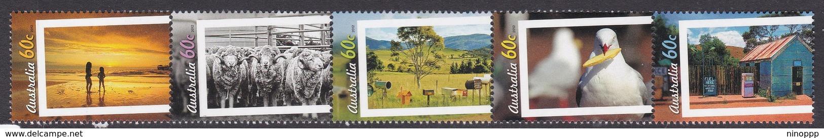 Australia ASC 3007-3011 2012 Living Australian Part II, Mint Never Hinged - Mint Stamps