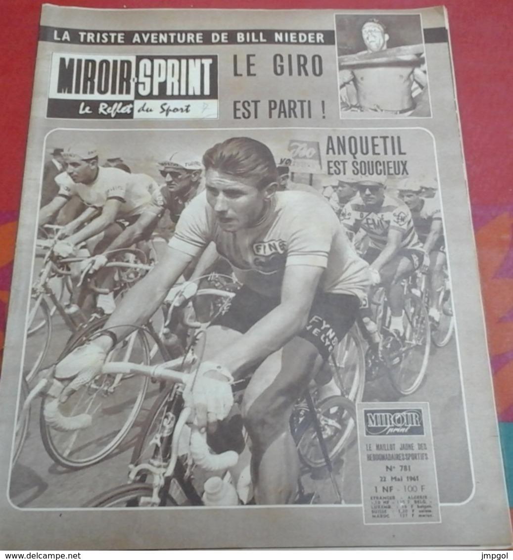 Miroir Sprint N°781 22 Mai 1961 Giro Italie Anquetil Baldini Favero Poblet, Jimmy Greaves,Classiques Ardennaises - Sport