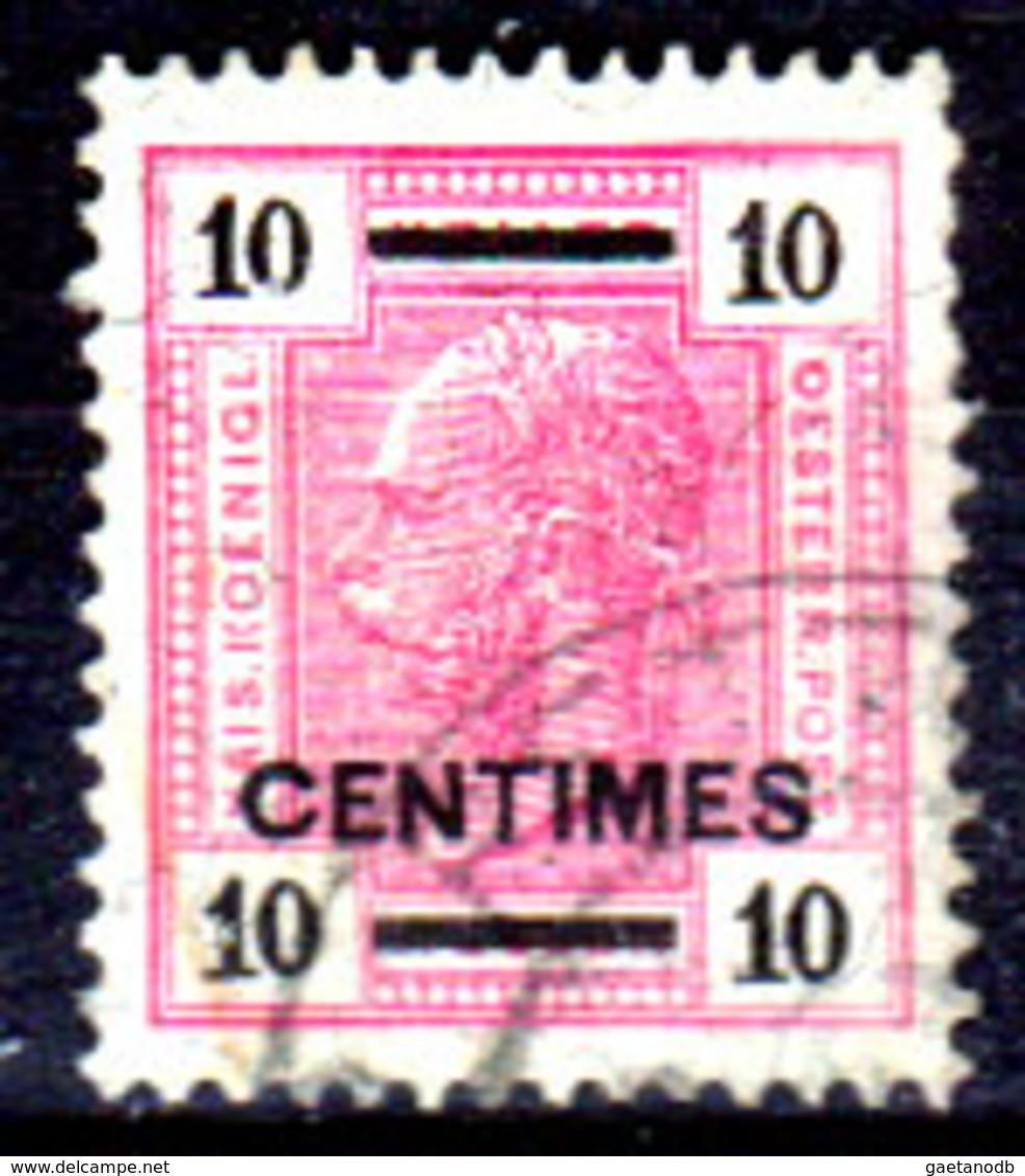 Creta-052 - Emissione 1905-07 (o) Used - Senza Linee Brillanti - Senza Difetti Occulti. - Creta