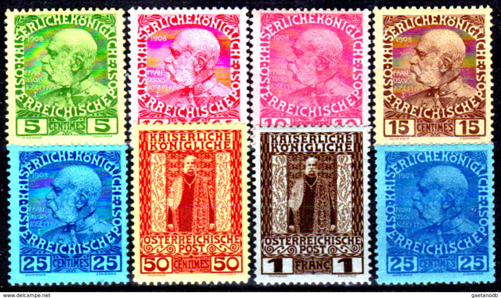 Creta-058 - Emissione 1908-14 (+) LH - Senza Difetti Occulti. - Creta