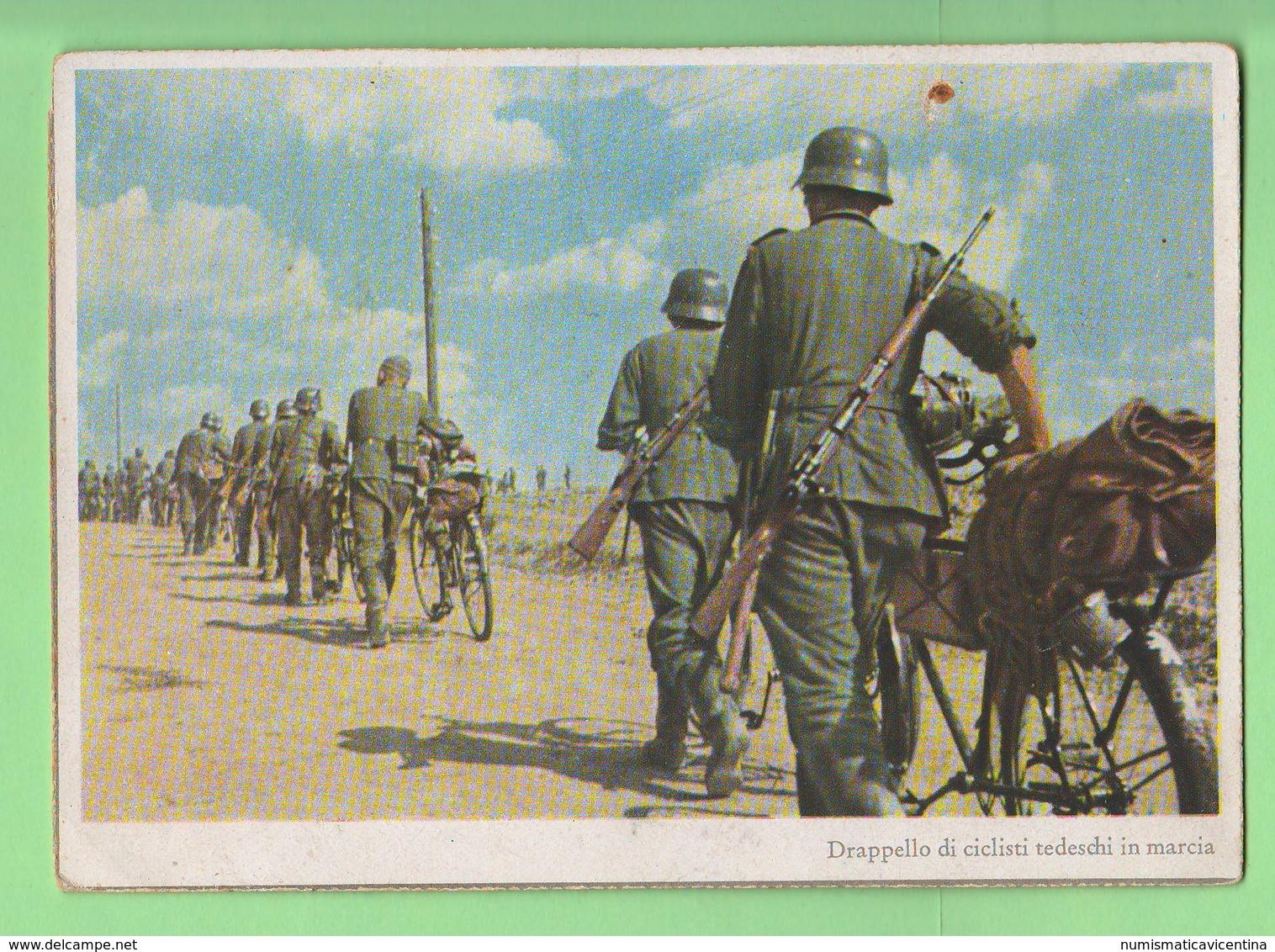 Wehrmacht Soldati Tedeschi Soldiers Cyclists Cpa Anni '40 - Weltkrieg 1939-45