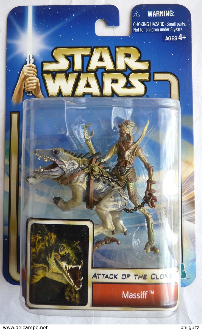 STAR WARS 2002 BLISTER ATTACK OF THE CLONE MASSIFF - Episode II