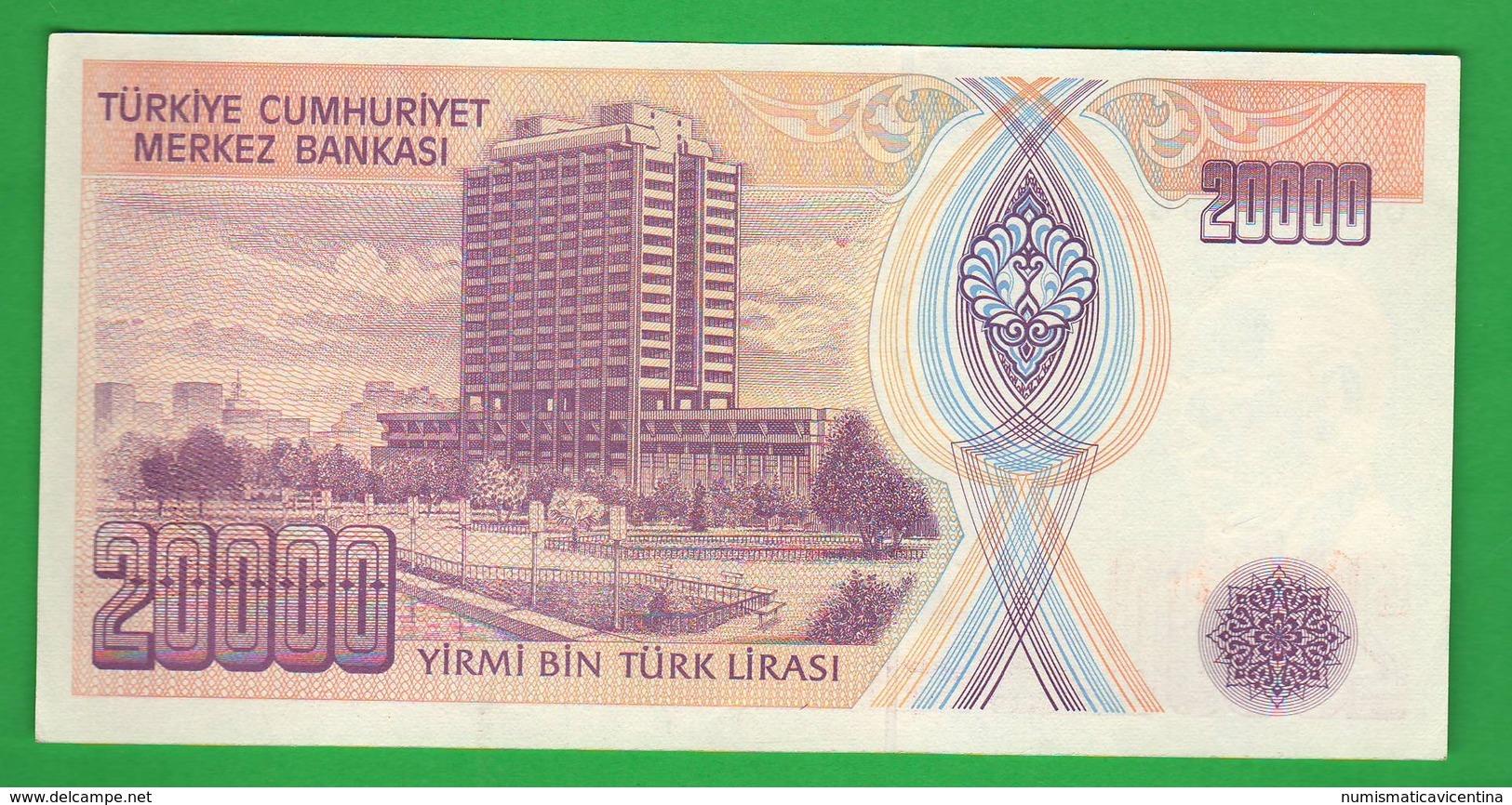 Turchia Turkey 20.000 Turk Lirasy  1970 - Turchia