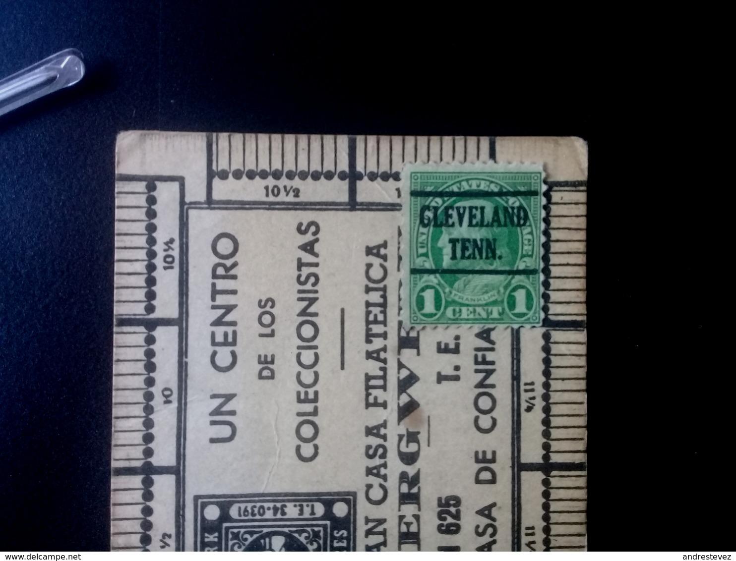 1centavo Benjamin Franklin Clevelan Teen.  Scott. 596 - Estados Unidos