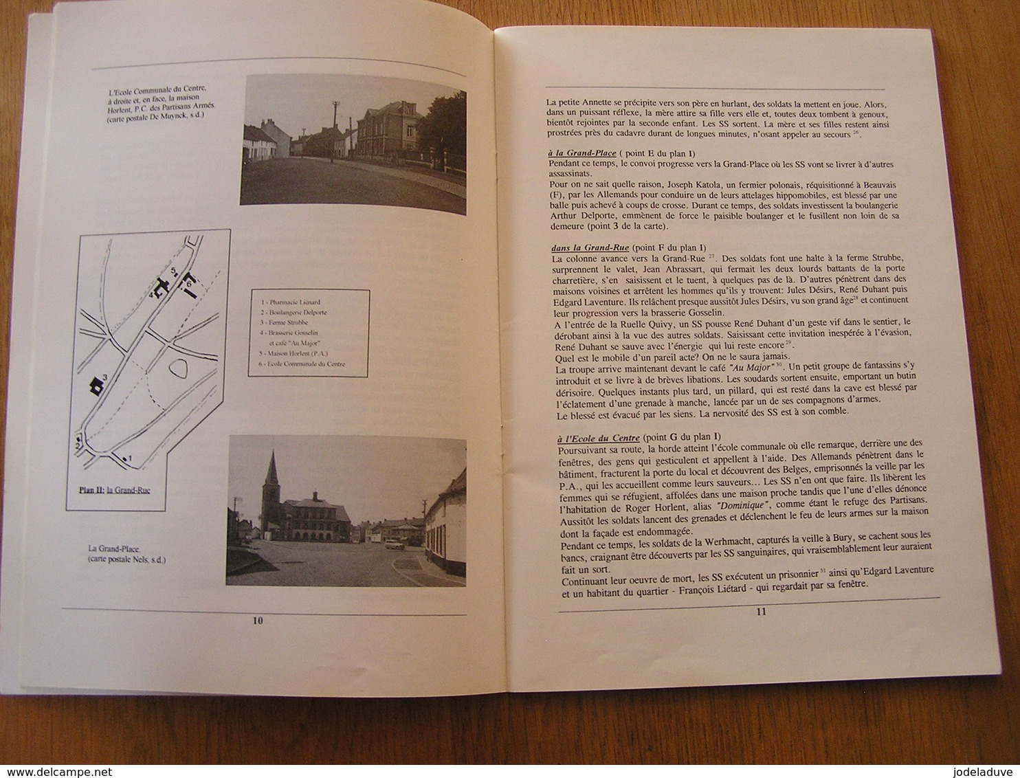 LA LIBERATION DE QUEVAUCAMPS Régionalisme Guerre 40 45  Résistance Hainaut Groupe G Armée Secrète Partisans - Guerra 1939-45