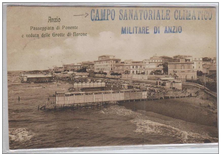 Anzio  -alte  Karte( Ka2831  ) Siehe Scan ! - Italy