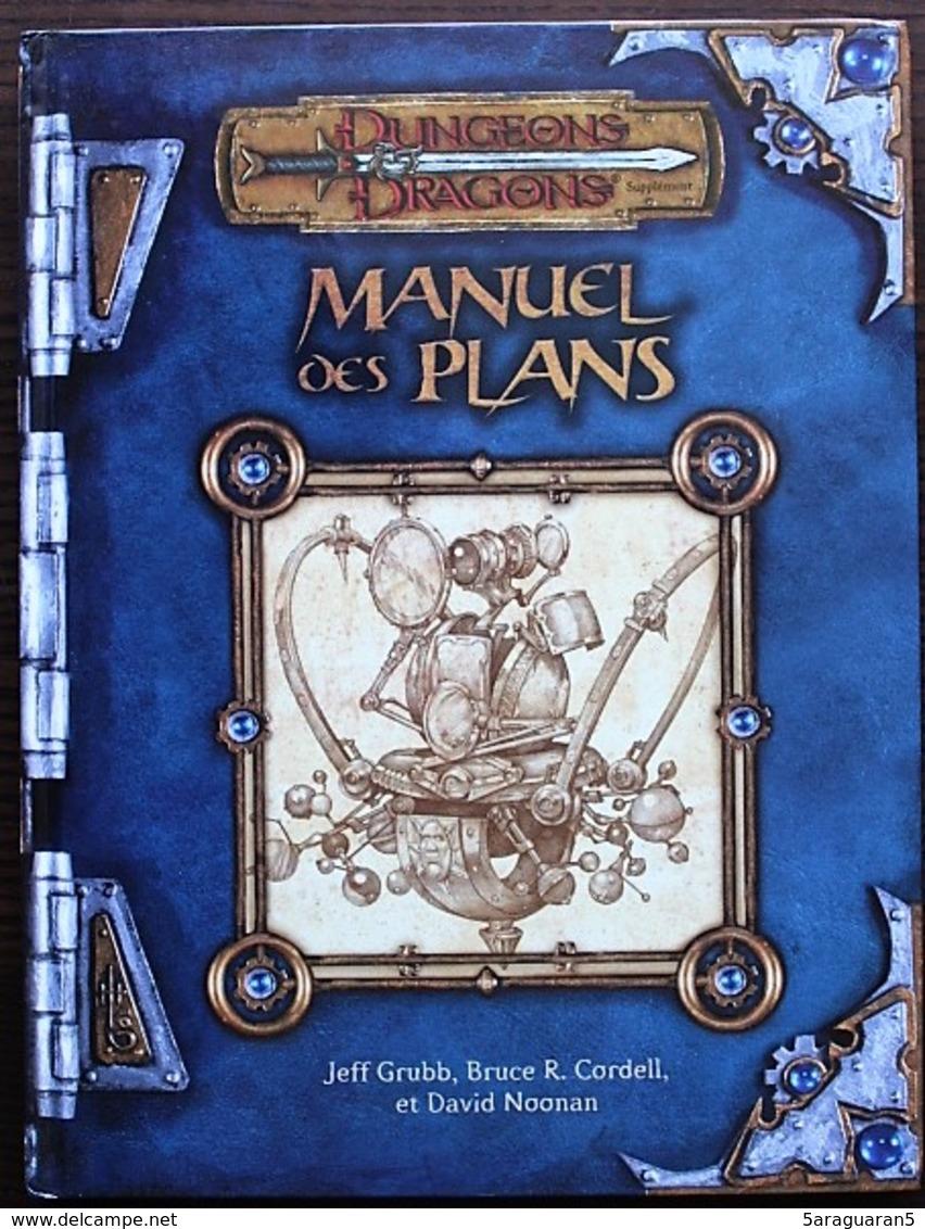 DUNGEONS & DRAGONS 3.0 - Manuel Des Plans - Dungeons & Dragons