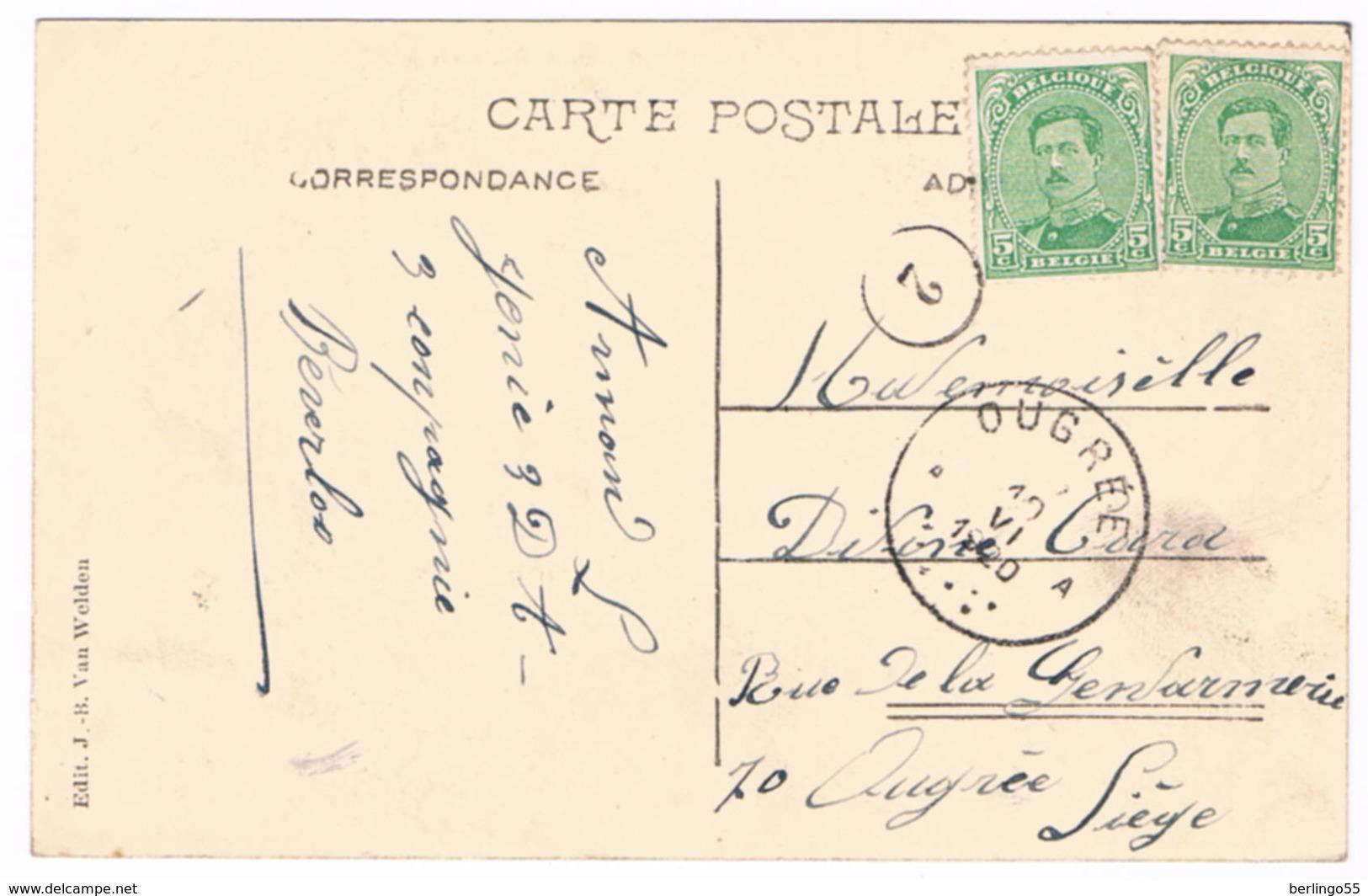 Bourg-Leopold - Rue De La Station 1920 ( Geanimeerd) - Leopoldsburg