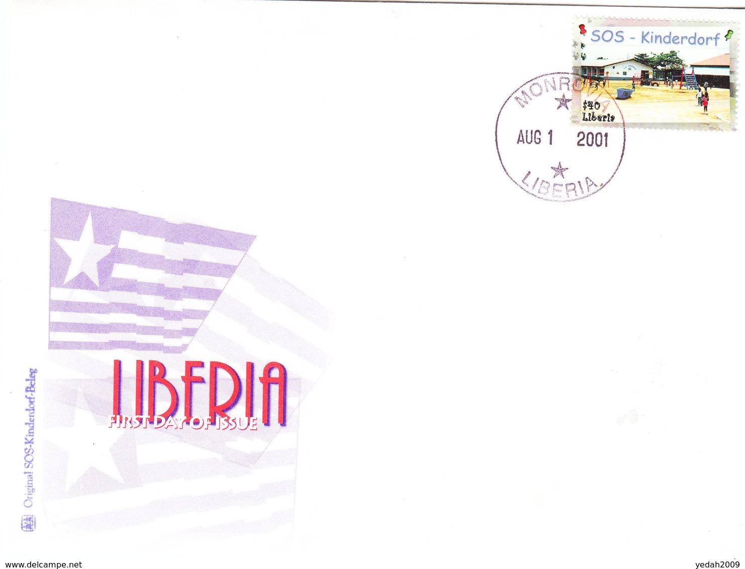 LIBERIA COVER 2001 - Liberia