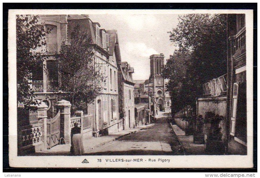 14-Villers-sur-Mer, Rue Pigory - Villers Sur Mer