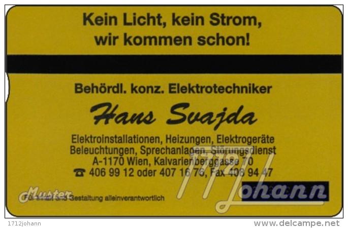 TWK Österreich Privat: 'Top Elektriker 2 - Svajda' (mit Absplitterung) Gebr. - Oesterreich