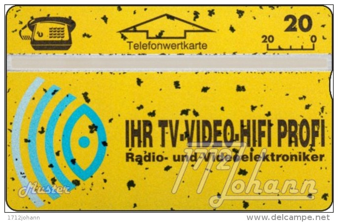 TWK Österreich Privat: 'TV - Video - Hifi' (mit Absplitterung) Gebr. - Oesterreich
