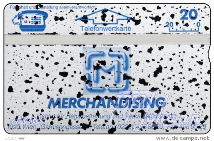 TWK Österreich Privat: 'Merchandising' (mit Absplitterung) Gebr. - Oesterreich