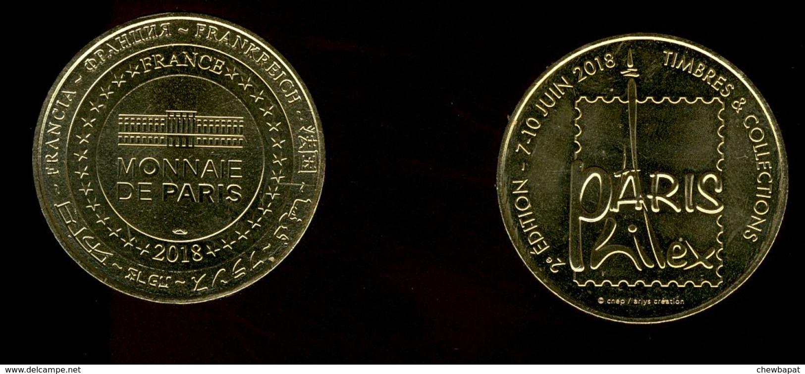 Médaille Monnaie De Paris Philex 2018 - Monnaie De Paris