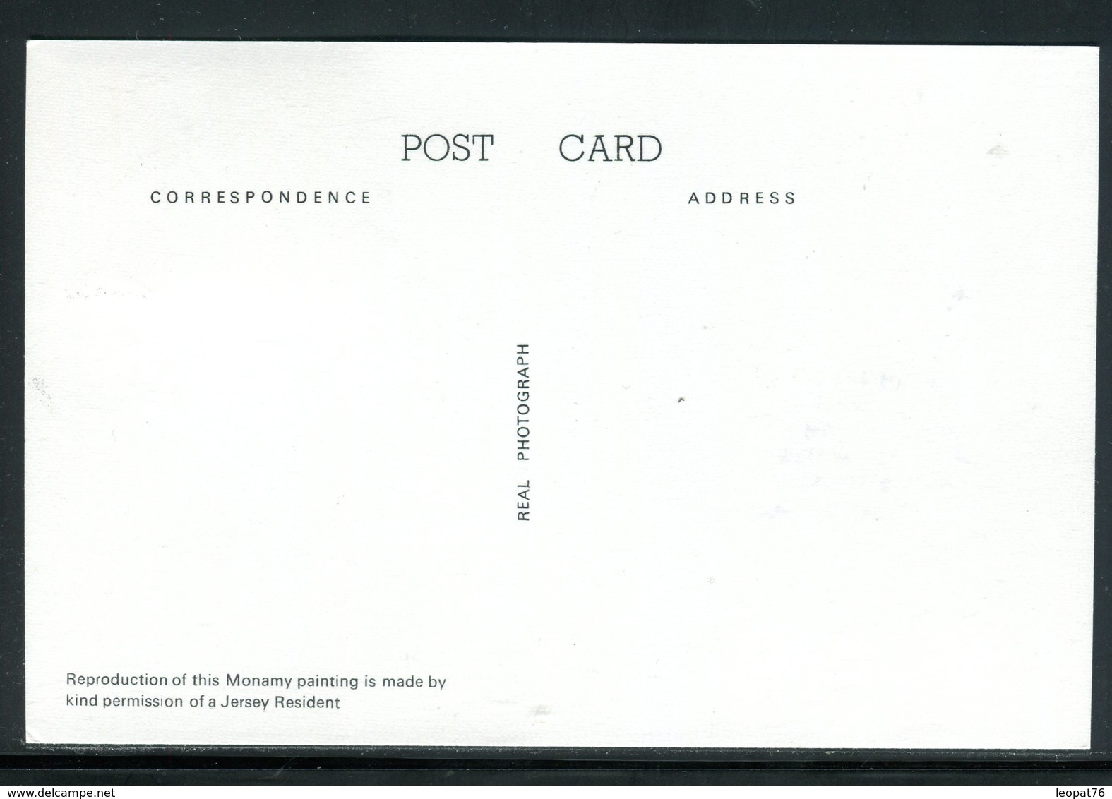 Jersey - Carte Maximum 1974 - Marine , Oeuvre De Monamy - Jersey