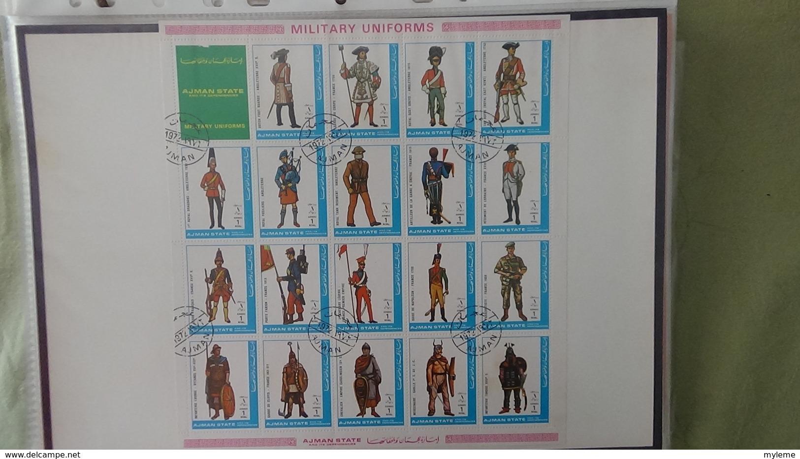 Classeur De + De 150 Blocs Et Bandes Oblitérés Du Monde. PORT OFFERT DES 50 EUROS D'ACHATS - Briefmarken